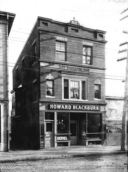 La taverna di Howard Blackburn