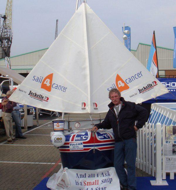 Tom Mcnally small boat