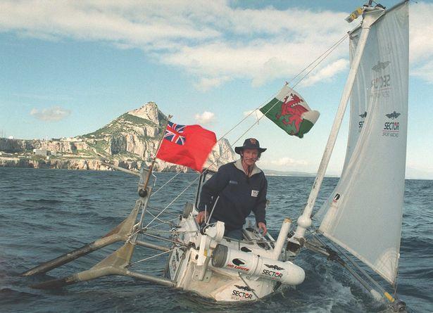 Tom Mcnally adventure small boat
