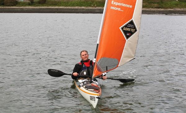 Pete Goss non-stop in kayak
