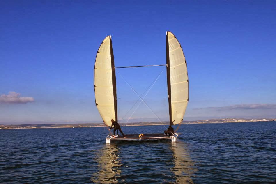 Team Cobalt catamarano a due rande