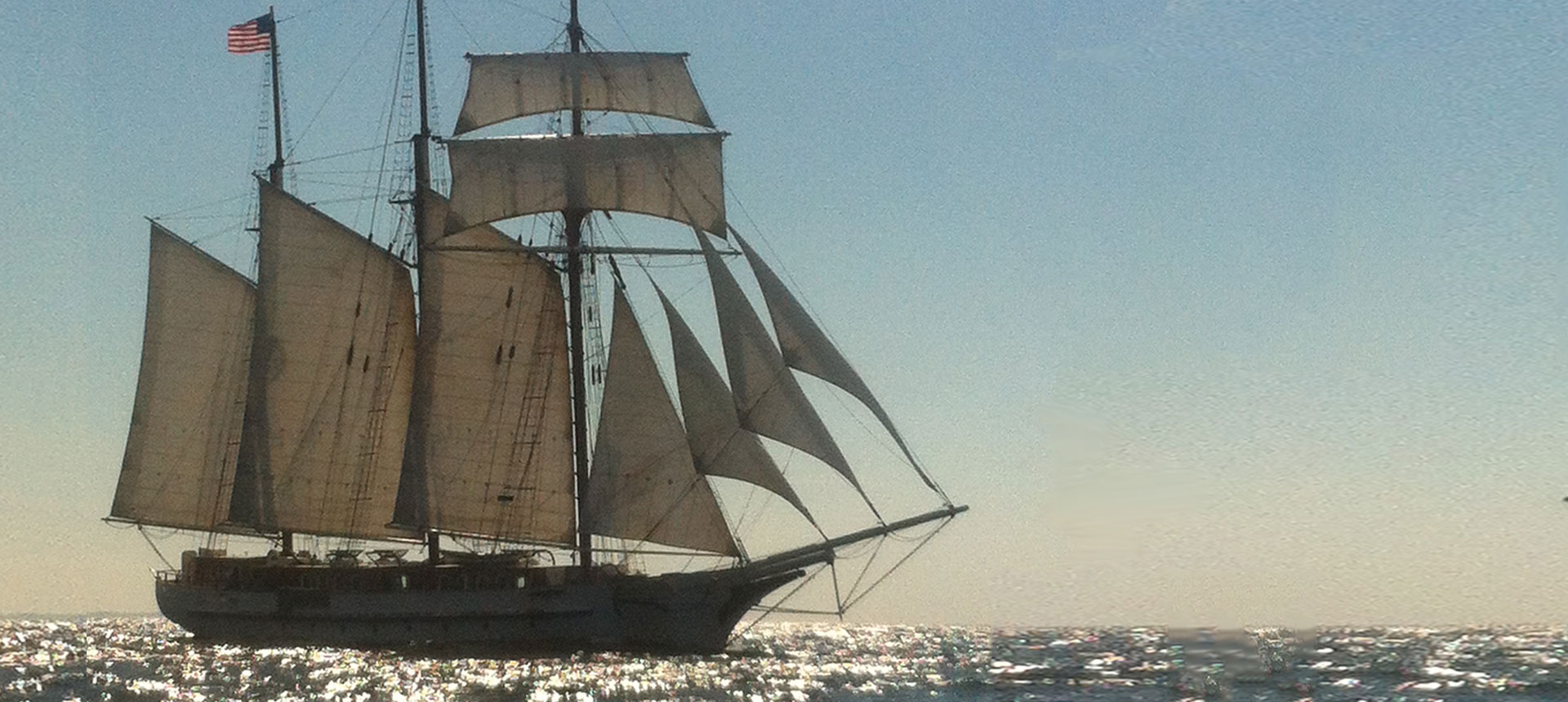 Tall Ship Schooner Mystic