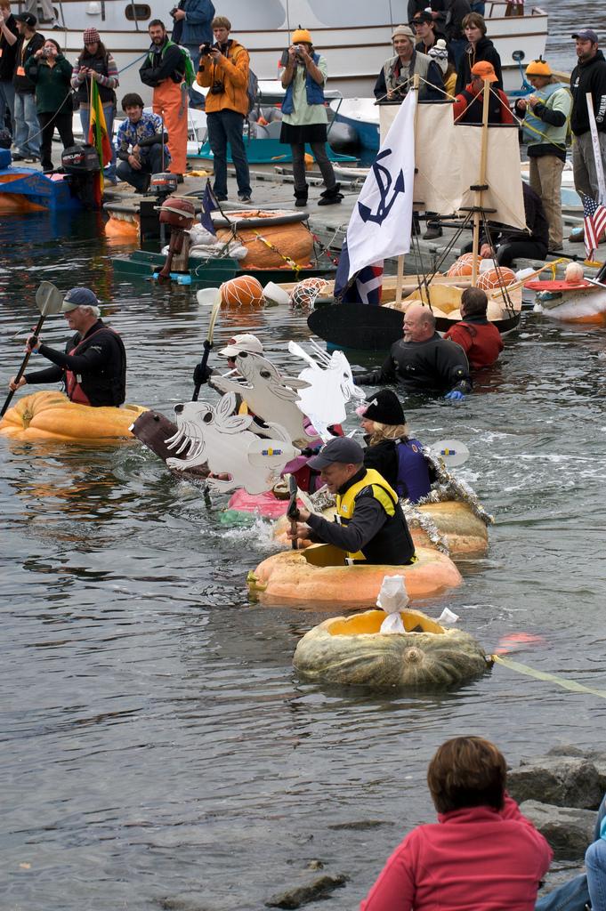 Pumpkin boats Regatta 7