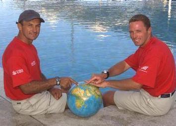Claudio Celon e Stefano Rizzi alla Volvo Ocean Race