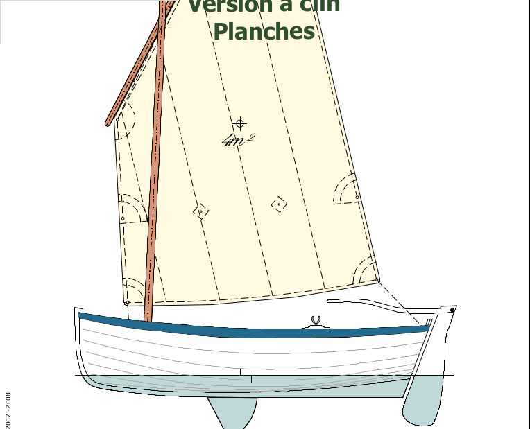 Small Dinghy Boat Plan