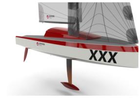 Sailboat print 3d carbon